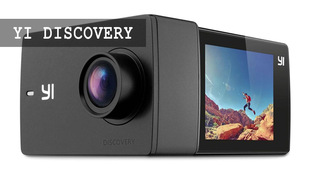 Yi Discovery недорогая экшн-камера