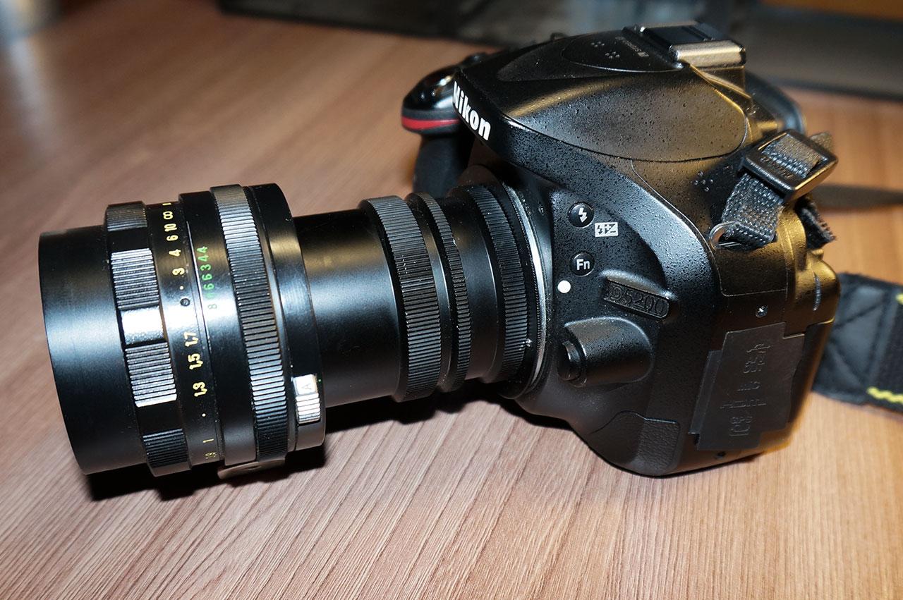 макросъёмка с помощью макроколец и объектива гелиос
