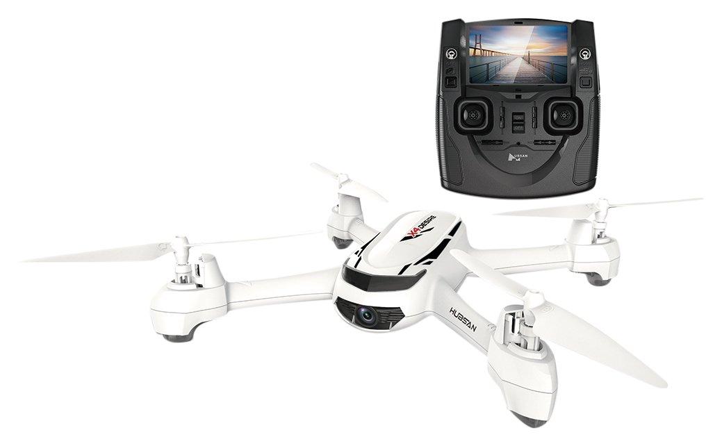 лучший бюджетный квадрокоптер с камерой Hubsan-X4-Desire
