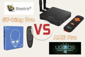 Beelink GT-king Pro vs UGOOS AM6 Pro