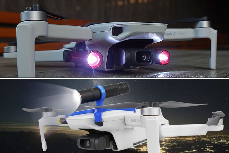 фонарик для ночных полётов на дроне Mavic Mini