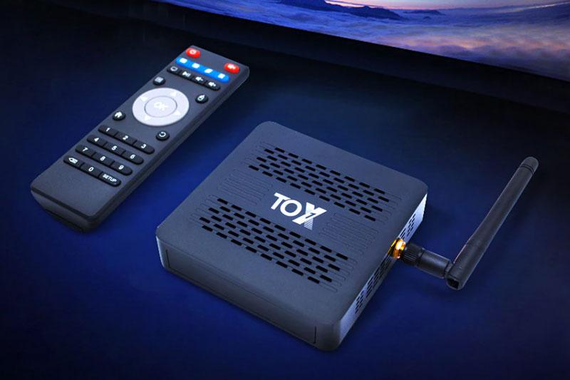 обзор ТВ-бокс TOX1